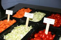 Healthy school lunch items!