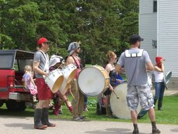 Mud Boots Crew marching  band